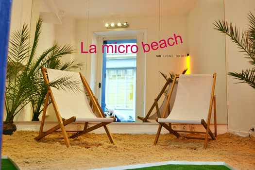 "LA MICRO GALERIE | Vernissage exposition ""La micro beach"""